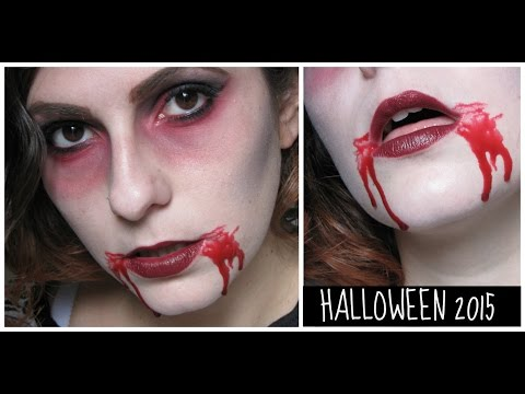 VAMPIRE MAKE UP ● Halloween tutorial! (facile facile)