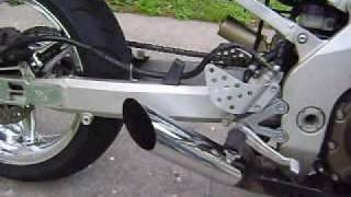 Kawasaki ZX9R flip