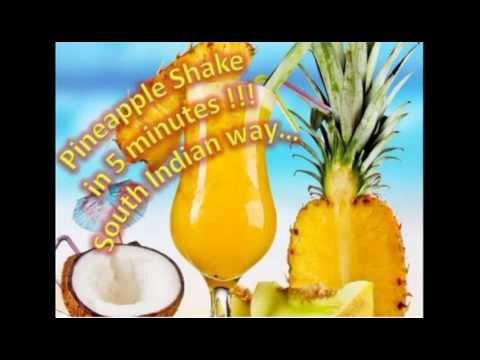 Pineapple shake - south indian way !!!