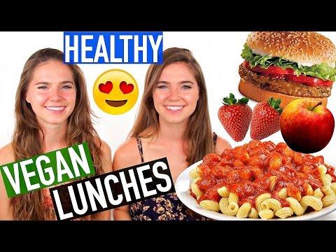 VEGAN Lunch Ideas - EASY & HEALTHY   NinaAndRanda