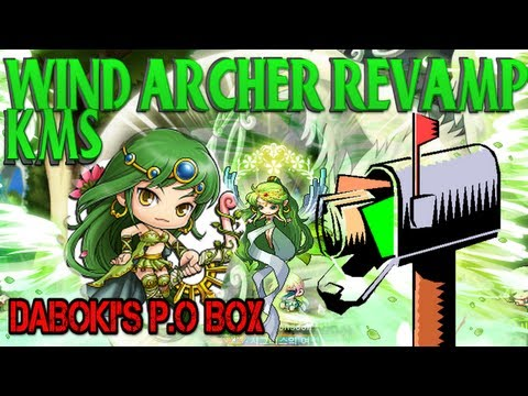 DaBoki's P.O BOX - Wind Archer Revamped (First Job) : Maple Story KMS