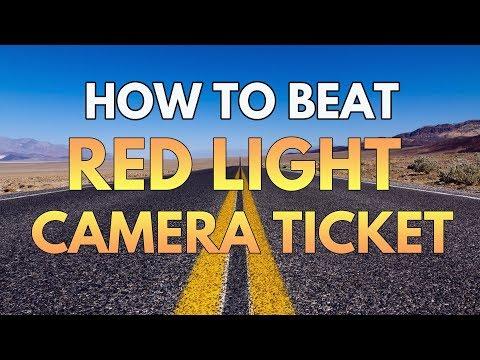 Red Light Cameras - How I beat my red light camera ticket