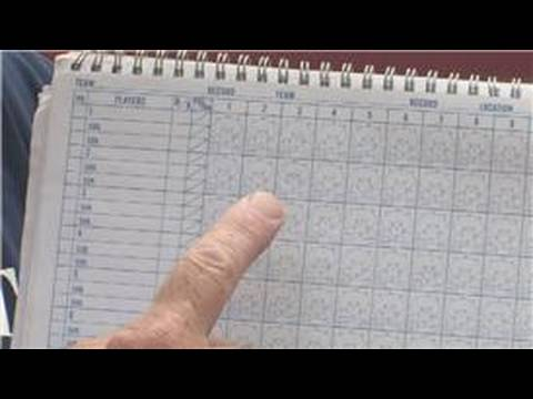 Baseball Information : How to Use a Baseball Score Book
