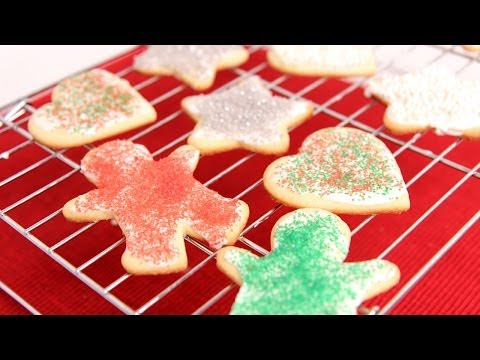 Cutout Sugar Cookie Recipe - Laura Vitale - Laura in the Kitchen Episode 688