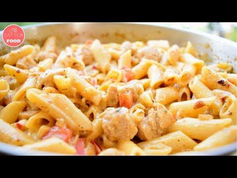 Vegan Chicken Pasta │Episode 109│ I'll Eat For Food