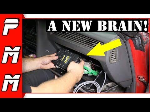 The Supra gets a new brain! Installing Haltech Elite 2000 ECU 1JZGTE MKIII Supra
