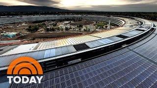 Apple's New Headquarters In Cupertino Sneak Peek | TODAY