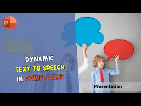 Dynamic Text to Speech in PowerPoint