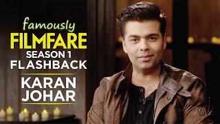 Karan Johar talks about fatherhood, movies and finding love | Famously Filmfare S1 | Throwback