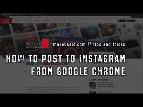 How to Post to Instagram from Your PC (Using Google Chrome)