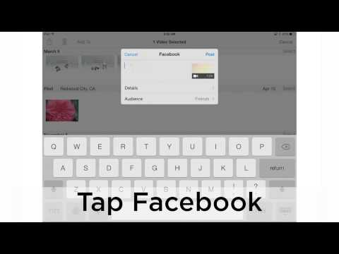 PeachByte - Uploading Videos to Facebook from iPhone or iPad
