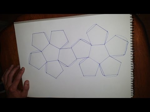 Dodecahedron How To - Platonic Solids - Heaven
