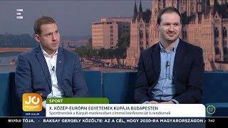 Kárpát-medencei Egyetemek Kupája - Nagy Gergő, Simon Gábor - ECHO TV