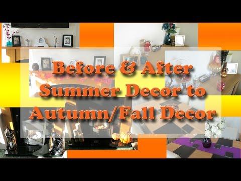Autumn/Fall House Decor