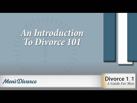 An Introduction To Divorce 101