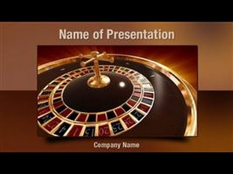 Roulette PowerPoint Video Template Backgrounds - DigitalOfficePro #01030V