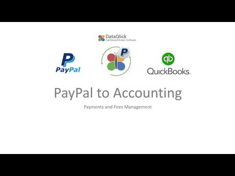 Connections. PayPal to Accounting App by DATAQLICK