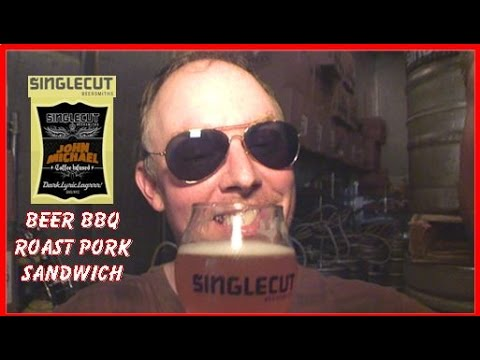 BEER BBQ ROAST PORK SANDWICH: Big Meals, Small Places with Sal & Richard