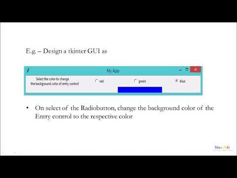 Python - tkinter Radiobutton