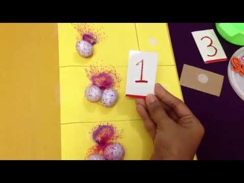 6 FUN activities to teach toddlers / preschoolers the concept of Math (sorting, counting)!