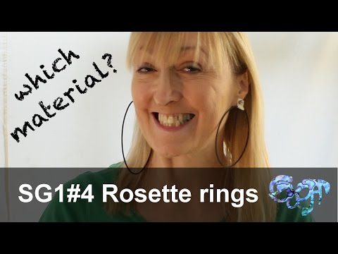 SuGar SG1 acoustic guitar build part 4: Rosette rings - what material to use?