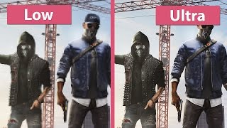 Test Game Watch Dogs 2 di Laptop Acer E5 475G | Setting