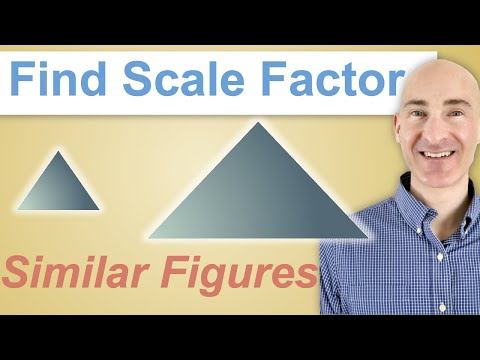 How to Find Scale Factor with Similar Figures