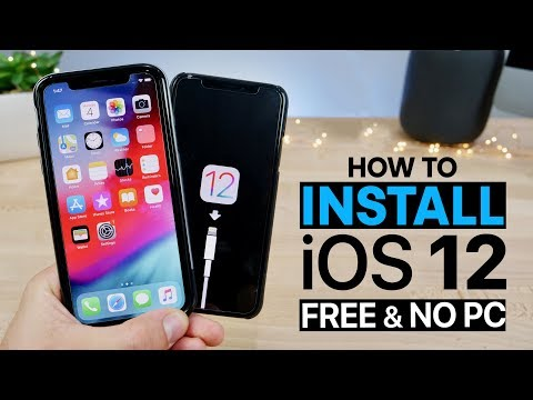 How To Install iOS 12 Beta 1 FREE No Computer!