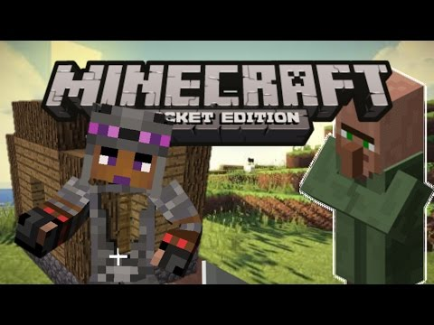 How to make a blacksmith in MCPE 0.15.0
