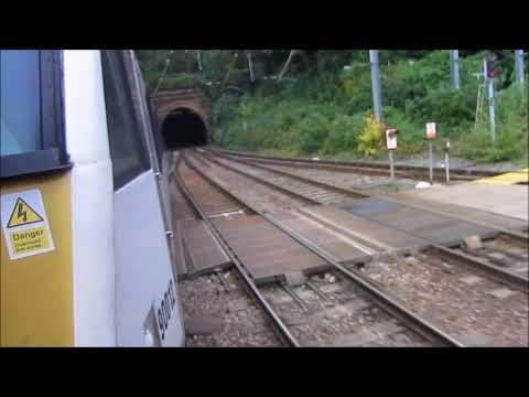 Class 90 through Ipswich Tunnel