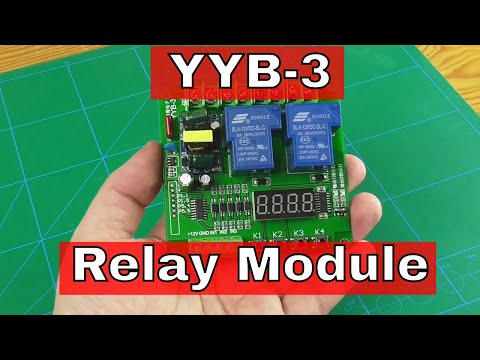 YYB-3 Dual Relay Module (Received from ICStation.com)