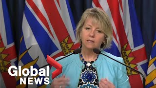 Coronavirus outbreak: B.C. reports 1 new death, 92 new cases of COVID-19 | FULL
