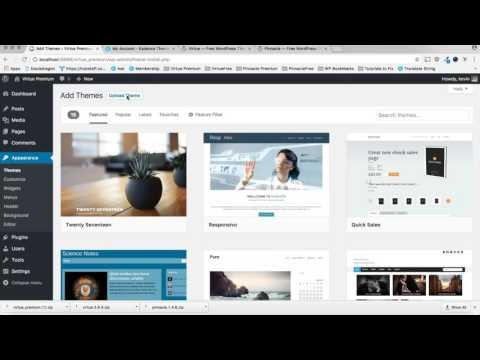 Install WordPress Themes - Kadence Themes