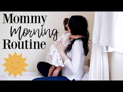 Mommy of 4 Kids Morning Routine 2018  Stay At Home Mom
