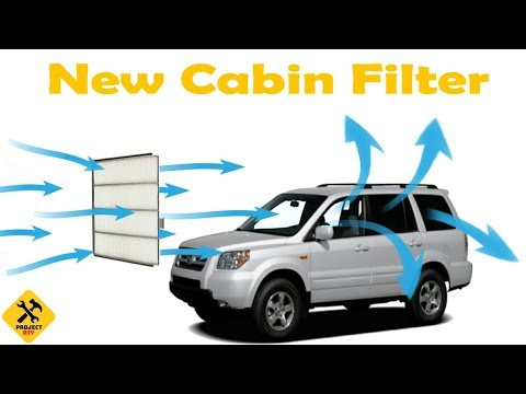 How  to Change Cabin Air Filter on a Honda Pilot