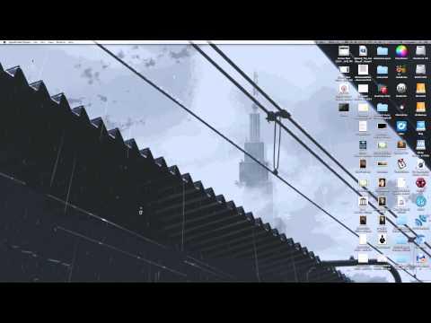 OSX Animated Desktop Background