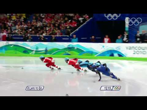 Men's 1000M Short Track Speed Skating Highlights - Vancouver 2010 Winter Olympic Games