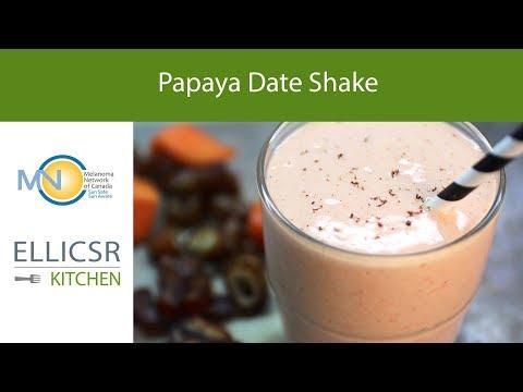 Papaya Date Shake