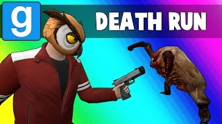 Gmod Deathrun Funny Moments - Zombie Map! (Garry