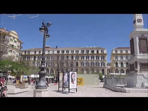The city of Malaga, Andalucia, Spain
