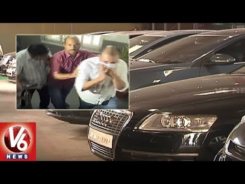 Hyderabad Police Bust Luxury Cars Scam | Conman Offers 30% Discount On High End Cars | V6 News