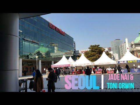 Travel Vlog: Seoul, South Korea # 3 | LOTTE MART, DONGDAEMUN, MOWMOW & MYEONGDONG DOG CAFE