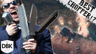 Extreme Battle Of The Ultimate Chopping Knives! Which Is The Best?