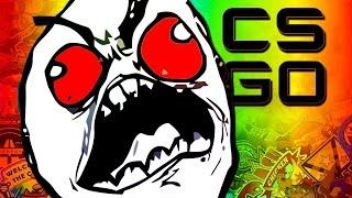 EXTREME JOEL RAGE! - CS:GO Funny Moments with The Crew!