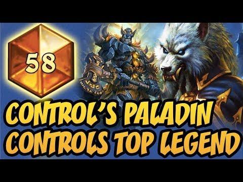 Hearthstone: Control's Paladin Controls Top Legend