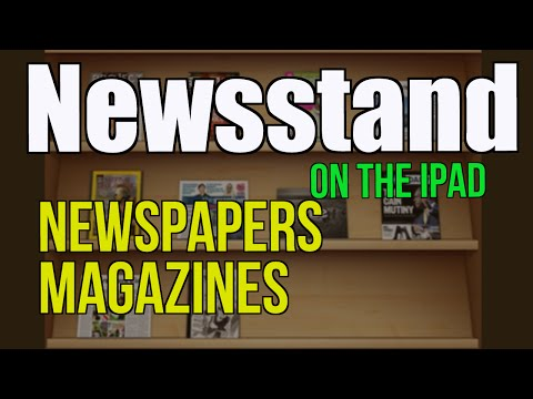 Purchase and Read Magazines and Newspapers  in Newsstand