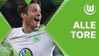 27 TORE - Weghorst, Ginczek, Brooks - Die Bundesliga Hinrunde des VfL Wolfsburg