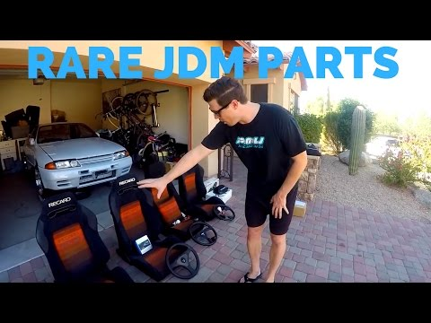 THIS DUDE FLIPS JDM PARTS TO FUND HIS GTR ADDICTION!