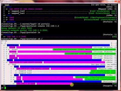 RHEL 7.0 :How to configure iSCSI target & iSCSI Initiator in Redhat Linux 7