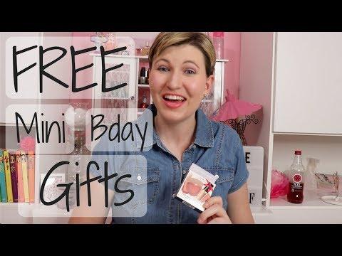 Ulta Beauty and Sephora Free Birthday Gifts